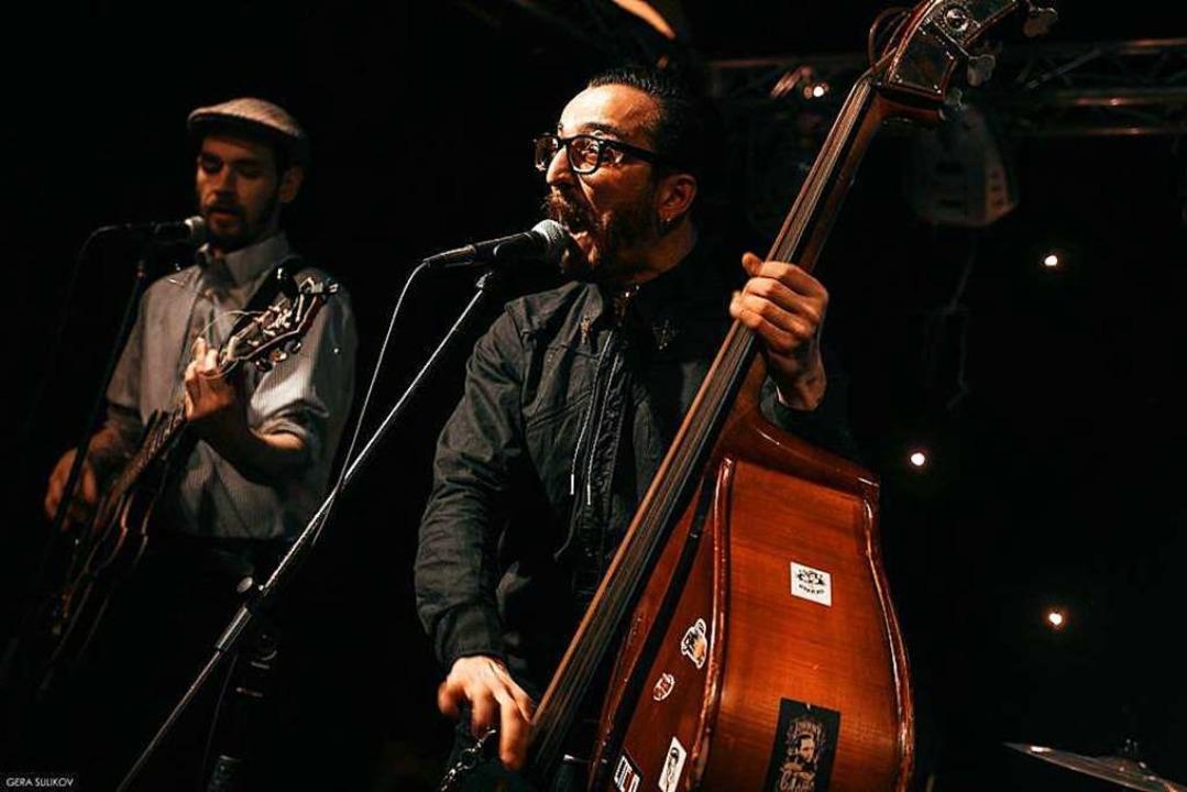 The Hypnotunez: Die ukrainischen Swing...treten am Donnerstag im Slow Club auf.  | Foto: Promo