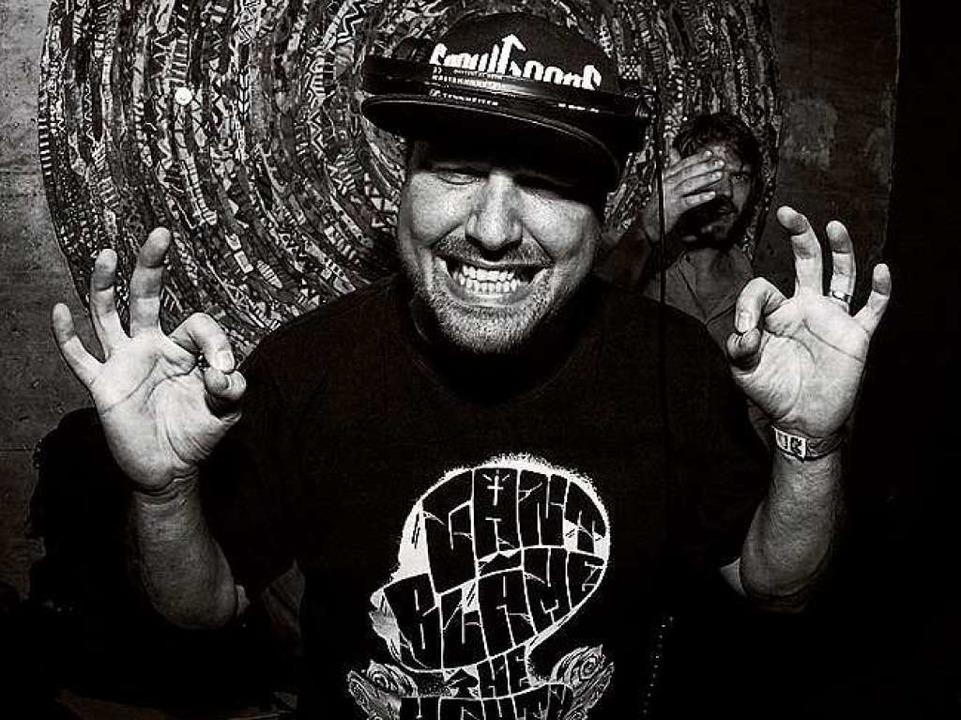 DJ Crypt aus Stuttgat legt am Samstag ...an bei Back On The Block  im Räng auf.  | Foto: www.fotonoid.com