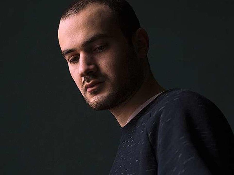 Der georgische DJ und Produzent Mind S...egt am Samstag bei Hagel im Crash auf.  | Foto: Pro