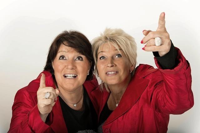 Petra Binder und Doris Reichenauer in der Sternenberghalle