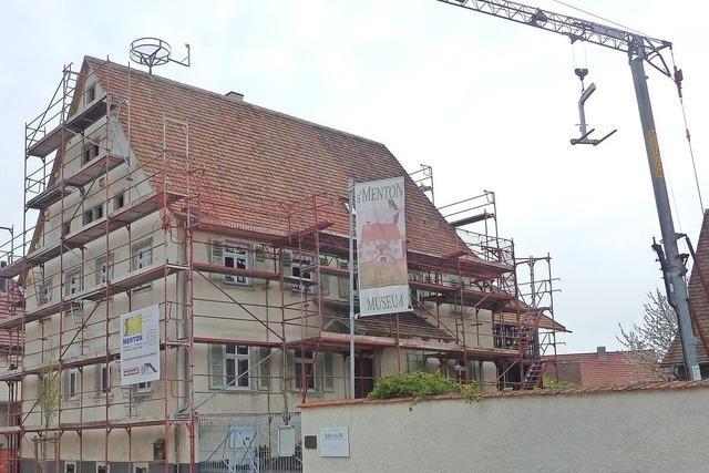 Dachsanierung des Museums ist fertig