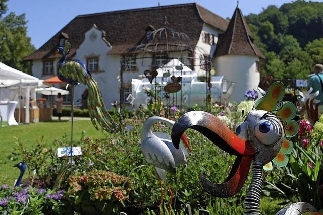 Gartenfestival am Inzlinger Wasserschloss