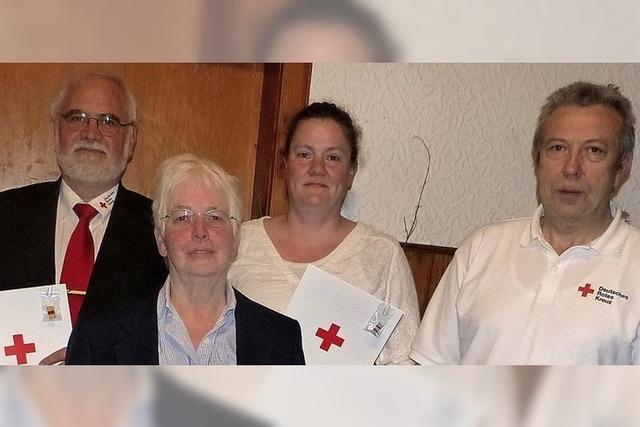 DRK-Helfer waren mehr als sonst gefordert