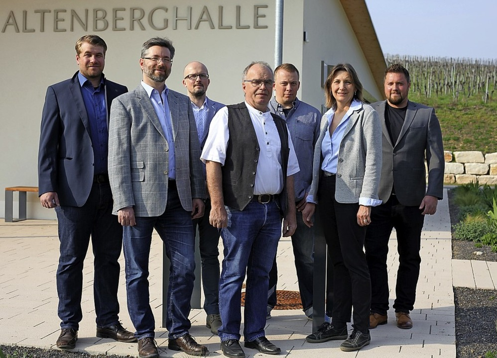 Die Kandidaten Maximilian Wolf, Johann...ger-Bernhart und Dennis Engler (v.l.)   | Foto: Ernst Hiestand