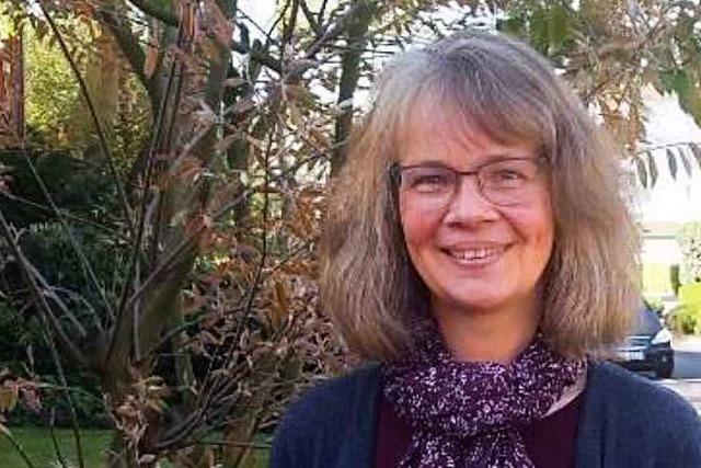Dagmar Jetterist die neue Pfarrerin in Weil-Friedlingen