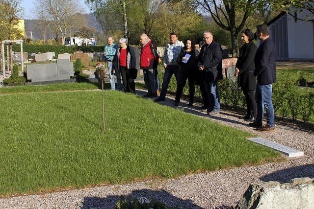 Neues Grabfeld für Sternenkinder in Murg