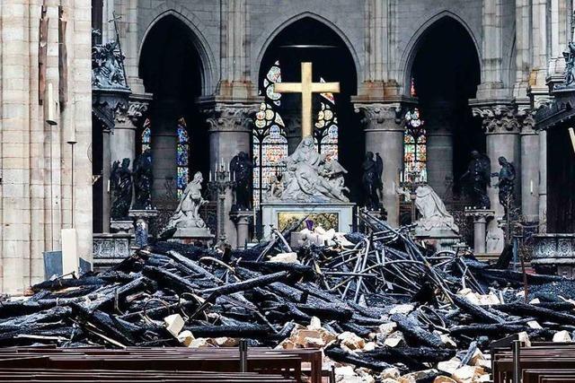 Die Katastrophe von Notre-Dame eint Frankreich