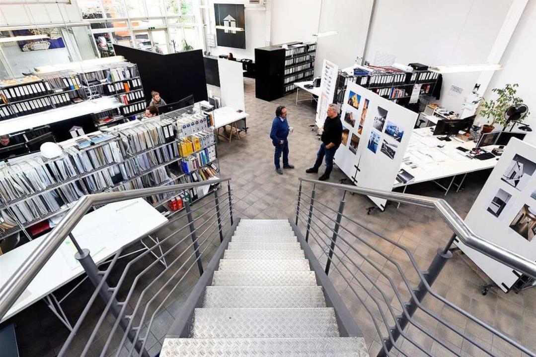 Das Heitersheimer Planungsbüro beschäftigt 18 Mitarbeiter.  | Foto: Thomas Kunz