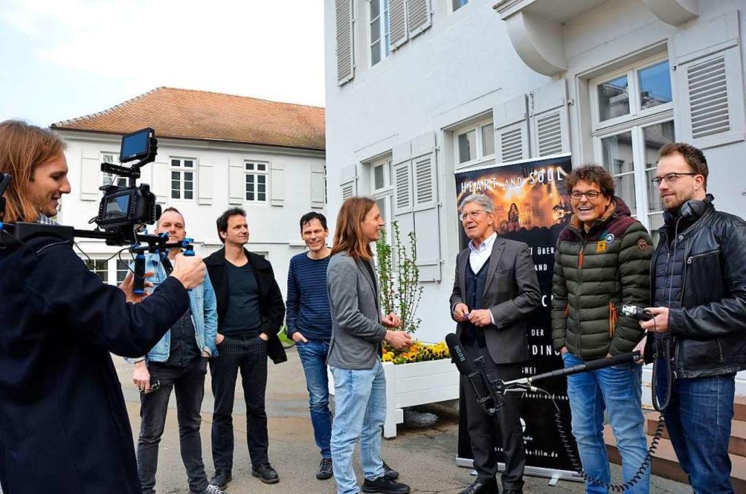 Die Lahrer Band Scaramouche soll auf d... Vetter und Produzent David Tabellion.  | Foto: Felix Lieschke
