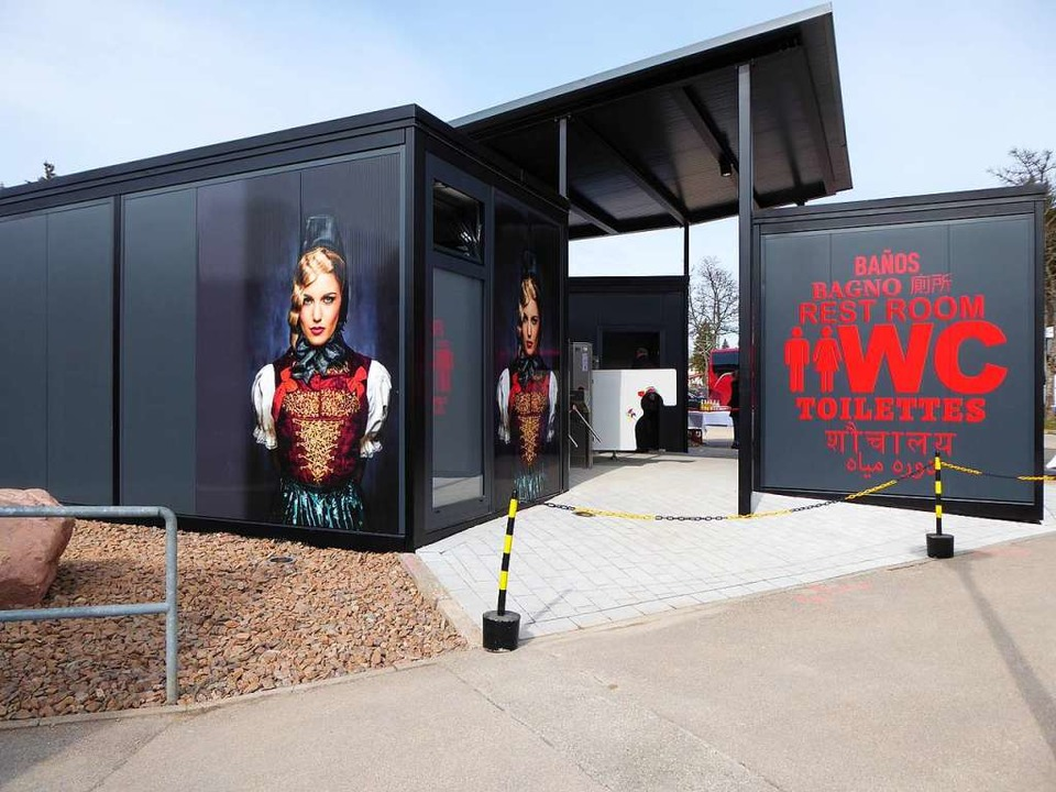 Das neue, schicke Geschäftshaus in Titisee  | Foto: Peter Stellmach