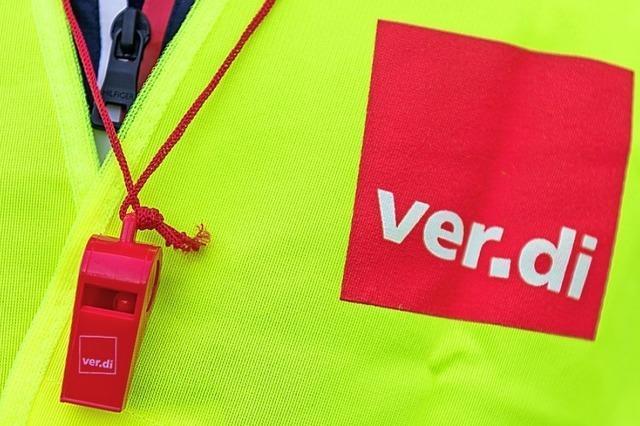 Verdi fordert einen Euro mehr in der Stunde