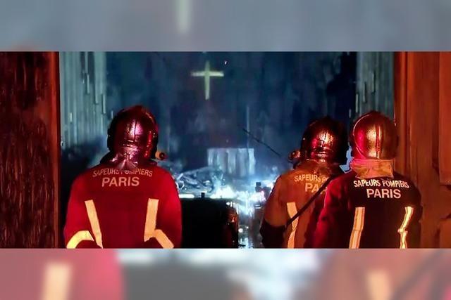Notre-Dame soll neu aufgebaut werden