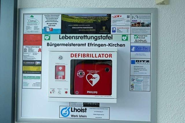 Defimed verteidigt ihre Defibrillatoren-PR in Efringen-Kirchen