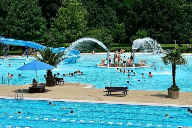 Das Strandbad in Freiburg soll am 1. Mai öffnen