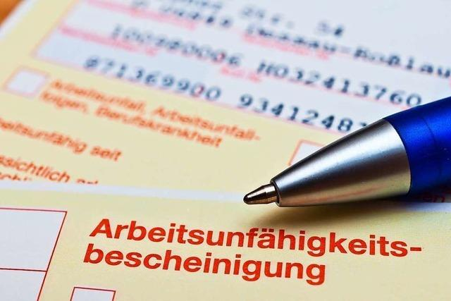 Die Freiburger sind gesünder als die Durchschnittsdeutschen