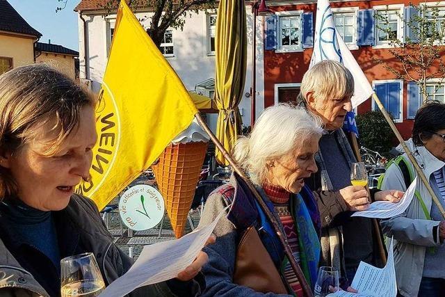 Atomkraftgegner kämpfen in Breisach seit acht Jahren für die Stilllegung des Akw Fessenheim
