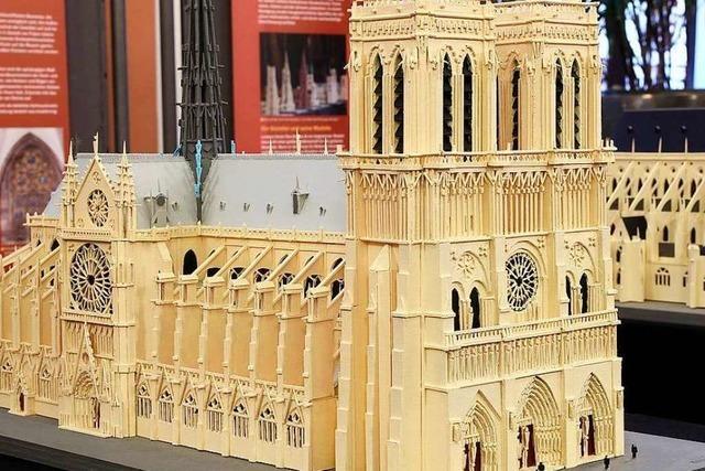 Ausstellung in Freiburg zeigt Modelle weltberühmter Kathedralen