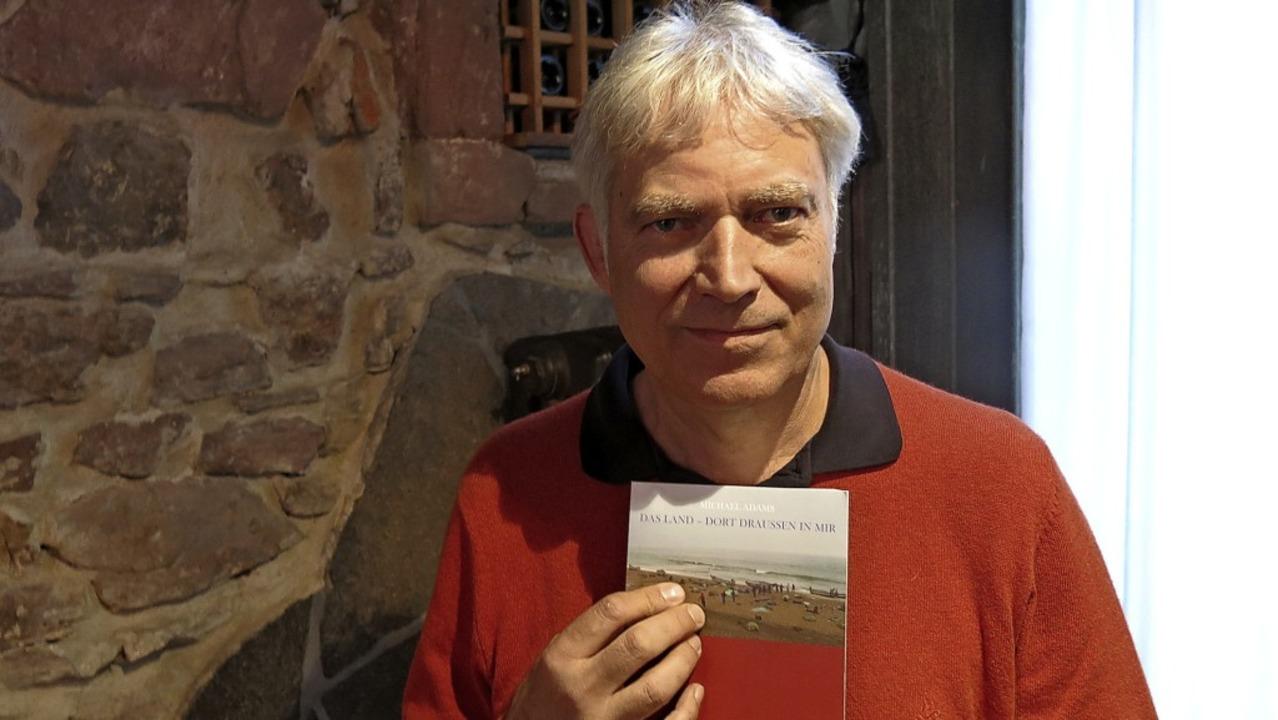 Michael Adams bei seiner Lesung im Punjab  | Foto: Georg Voß