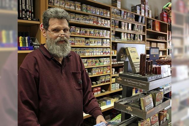 Fritz Weisbrod schließt den Laden