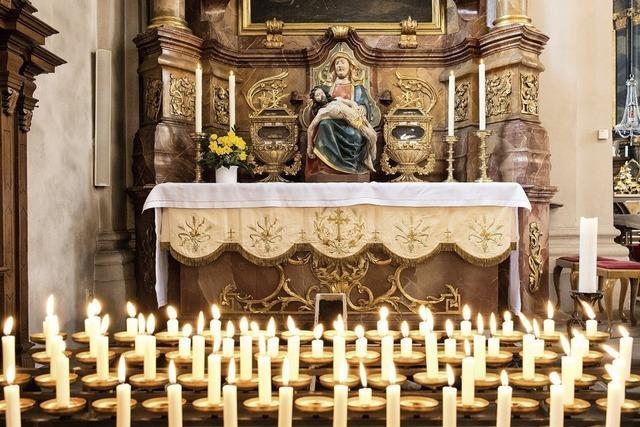 Das Heilige Grab ist offen