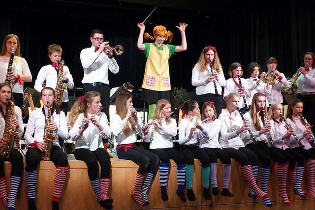 Beim Konzert des Musikvereins Vörstetten standen mutige und mächtige Frauen im Mittelpunkt