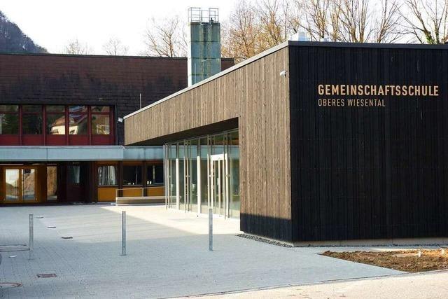 Im Glanz des Silberbergbaus steht die Hauptschule in Todtnau