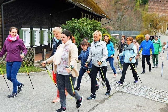 Bekannte Nordic-Walking-Expertin gibt Kurs im Hofgut Himmelreich