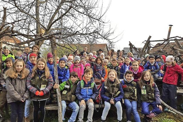 Wiechser Grundschüler werden zu Naturforschern