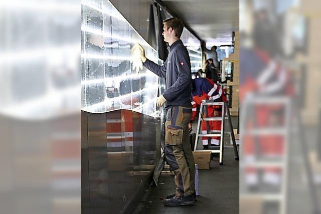 Lichtband in Unterführung wird saniert