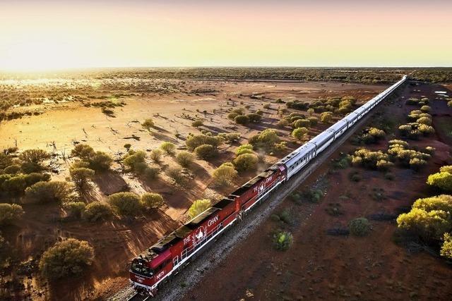 Reise durchs heiße Herz Australiens: The Ghan