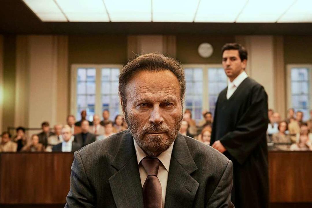 Der Mörder und sein Pflichtverteidiger...ollini, Elyas M'Barek als Anwalt  | Foto: dpa