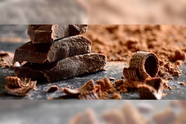 Spitzenreiter bei der Schokolade