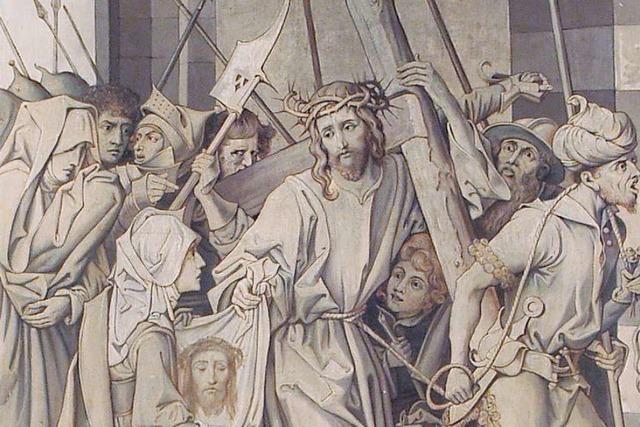 Die Passionszeit öffnet den Blick auf zwei Altarbilder in Grenzach-Wyhlen