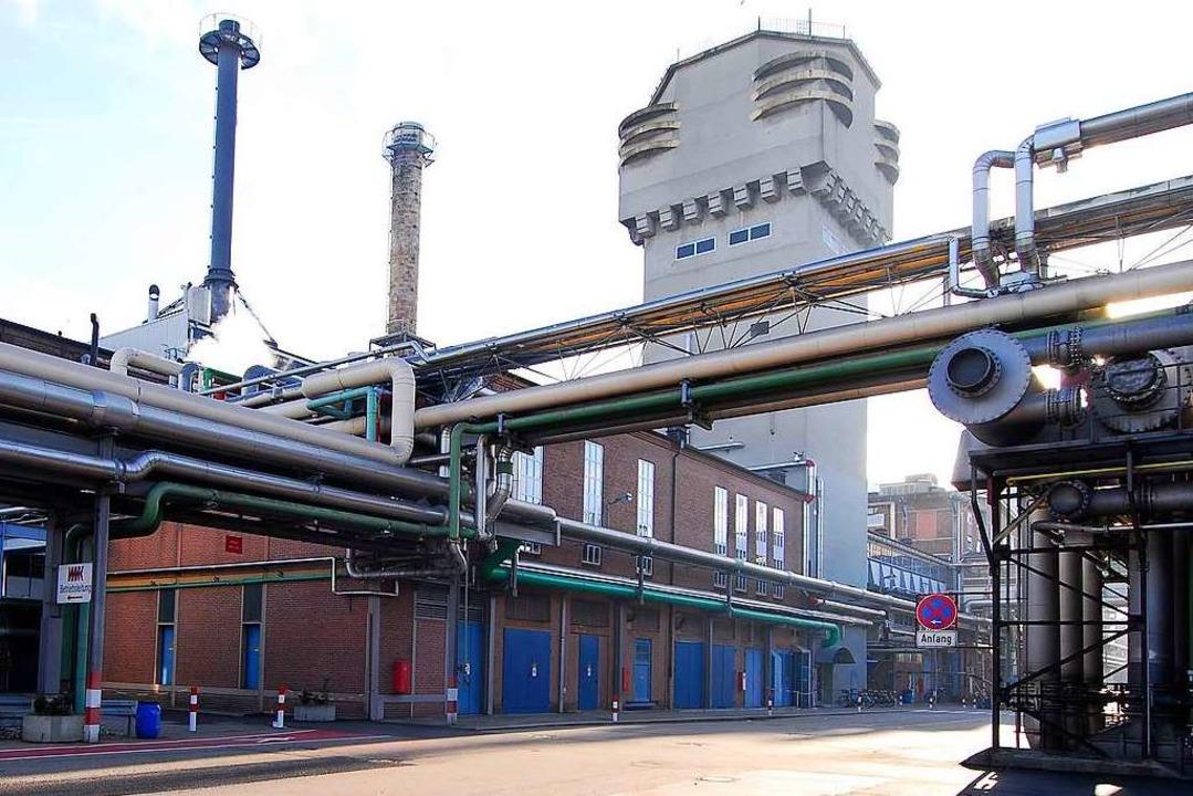 Das Chemieunternehmen Cerdia, ehemals ...ur Klasse der oberen Störfallbetriebe.    Foto: Michael Bamberger