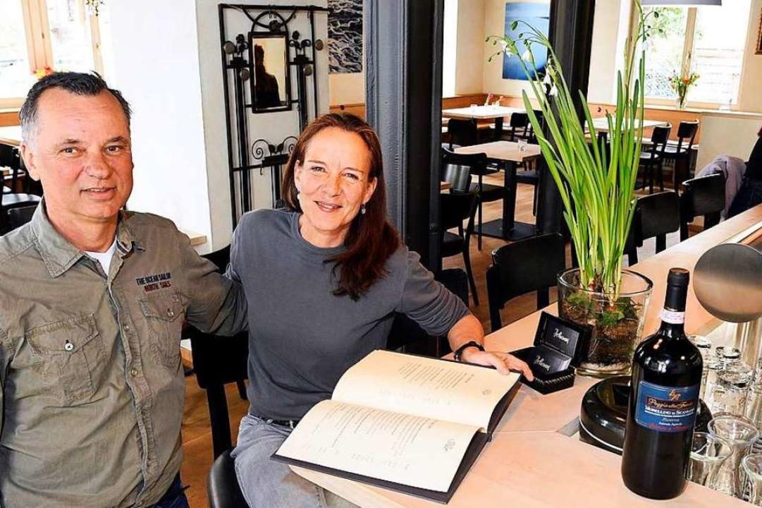 Andreas und Alexandra Stolz führen das...wurden generalüberholt und entrümpelt.  | Foto: Thomas Kunz