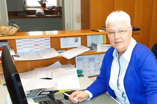 30 Jahre die erste Kontaktperson im Münsterpfarramt