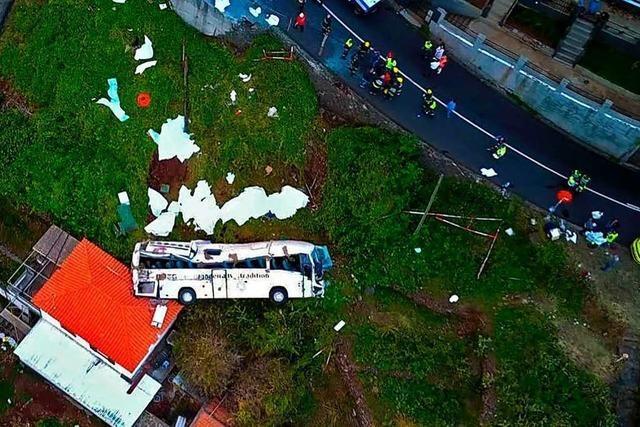Live: Die Entwicklungen vor Ort nach dem Reisebusunfall auf Madeira