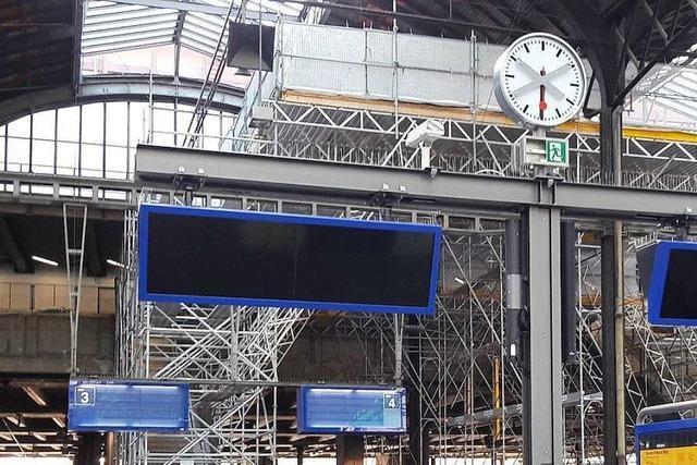 Der Bahnhof SBB in Basel bekommt eine Frischzellenkur