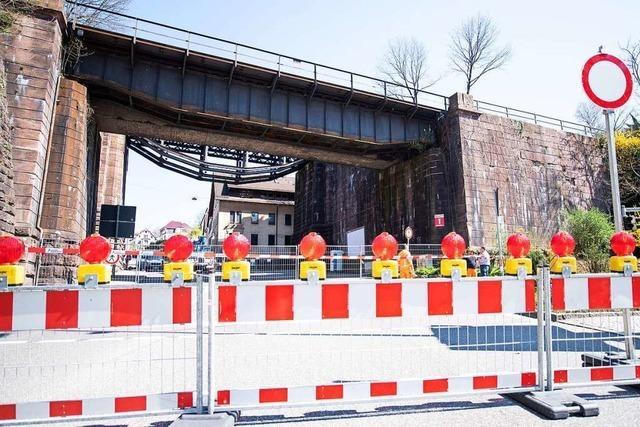 Bundesstraße in Calw gesperrt, weil Brücke einsturzgefährdet ist