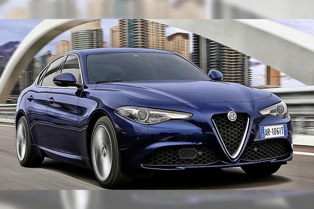 Alfa baut auf Giorgio