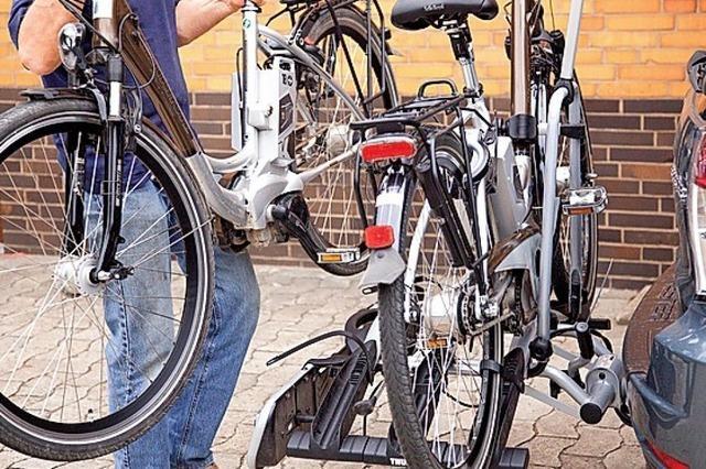 Zweiräder im Gepäck