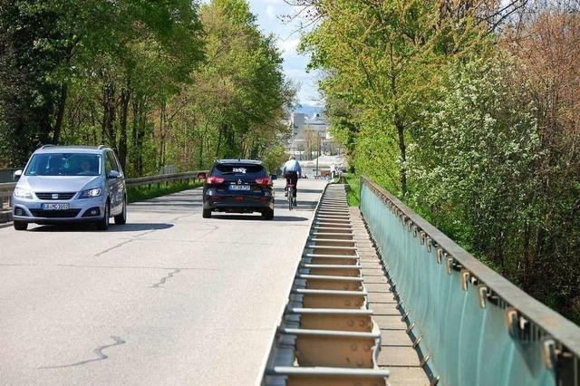 Von Weil-Haltigen zum Rhein soll ein Radweg gebaut werden