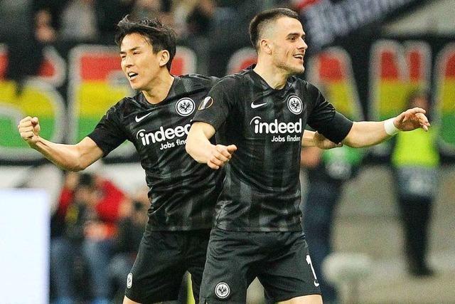 Frankfurt nach 2:0 über Benfica im Halbfinale der Europa League
