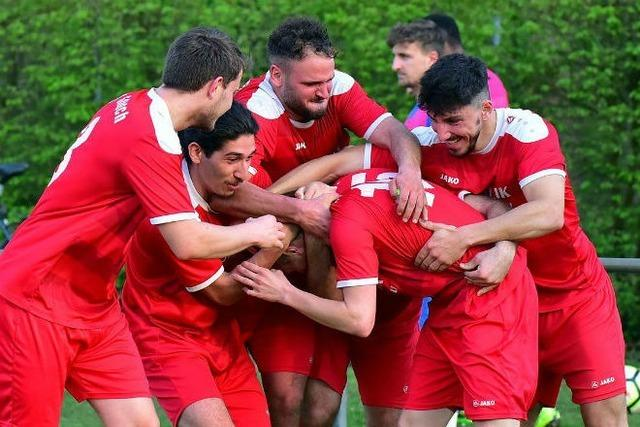 SF Eintracht Freiburg und FV Sasbach im Pokalfinale