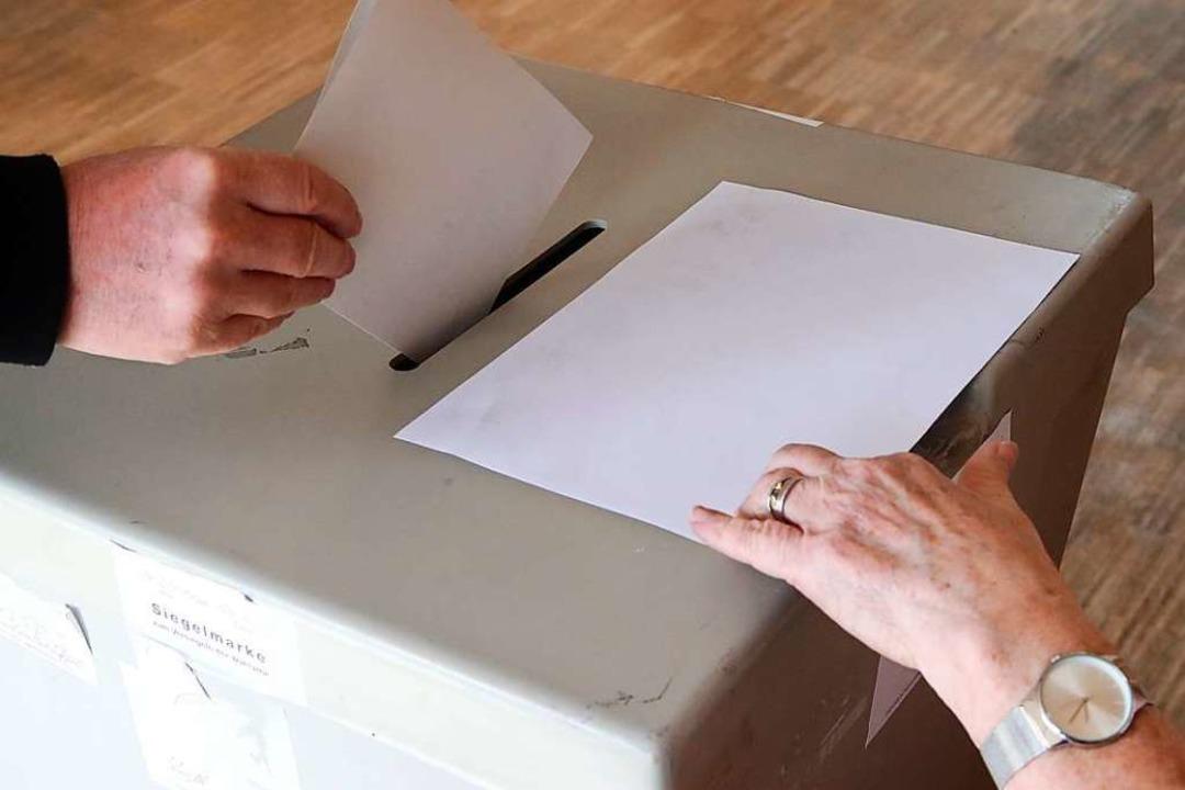 Bei der Kommunalwahl werden gleichzeit...er Jahren zuletzt eingemeindet wurden.    Foto: dpa