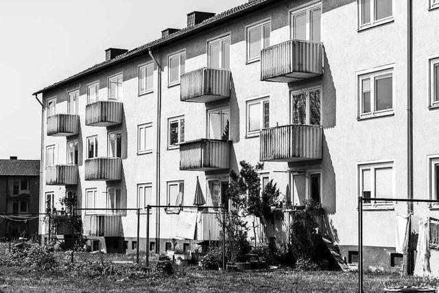 Hier stirbt eine Wohnsiedlung in Freiburg