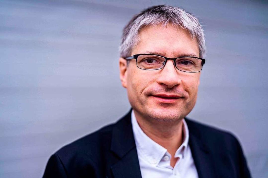 Sven Giegold war Mitbegründer der glob...eit 2009 sitzt er im Europaparlament.   | Foto: Dominik Butzmann