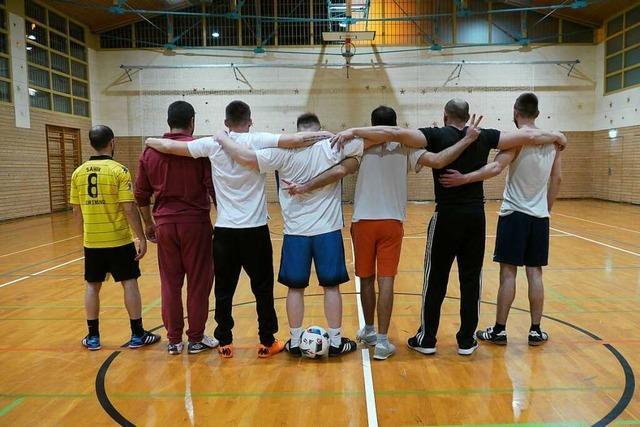 Kicken im Knast: Warum Fußball in der JVA Freiburg so wichtig ist
