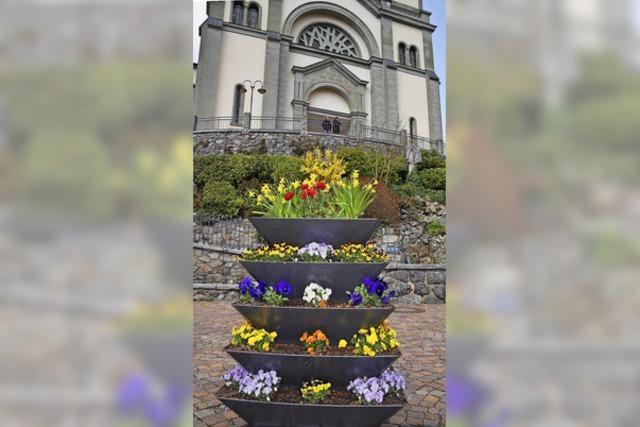 Blumengrüße in Todtnau