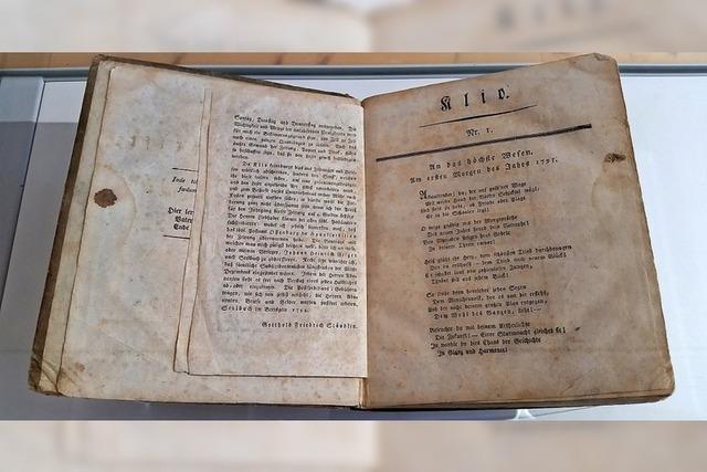 Die erste Zeitung in Lahr hieß